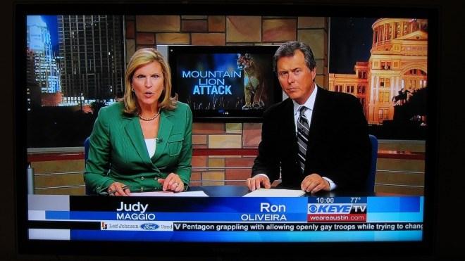 Fernsehen, News, Newsflash