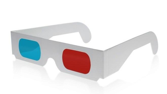 3d, Brille, 3D Glasses