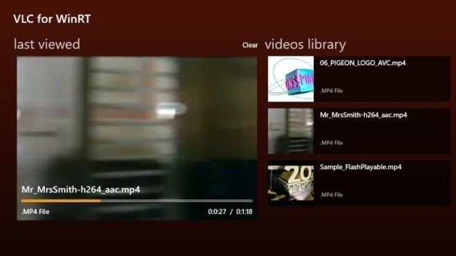 Windows 8, Player, Vlc, Videolan, VLC for WinRT