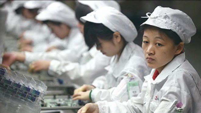 Produktion, Foxconn, Arbeiter