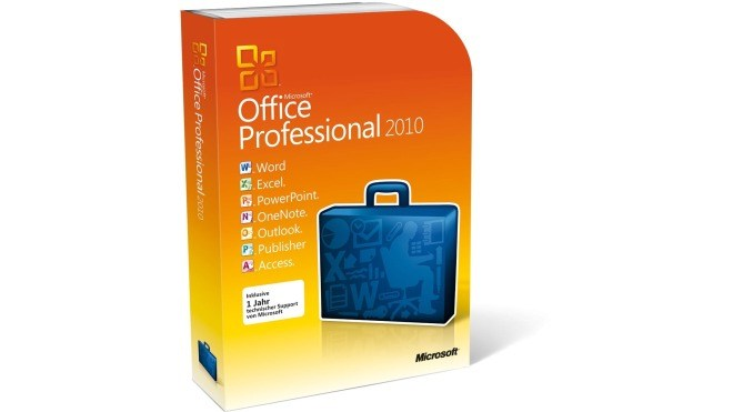 Office 2010, Retail, Verpackung, Packaging, Office 2010 Professional