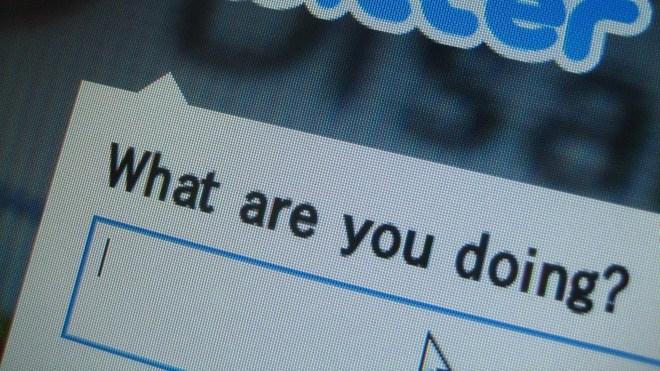 Twitter, Foto, Bildschirm