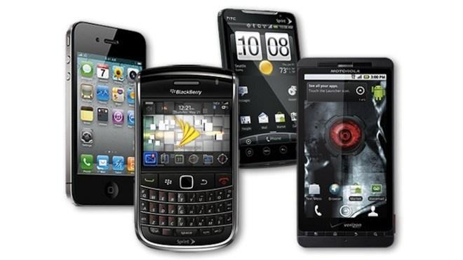 Iphone, Smartphones, Htc, Motorola, Blackberry