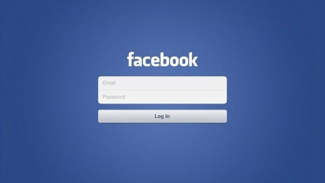 Facebook, Login Screen, facebook ipad