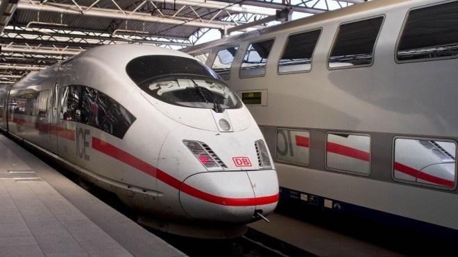 Deutsche Bahn, Ice, Zug
