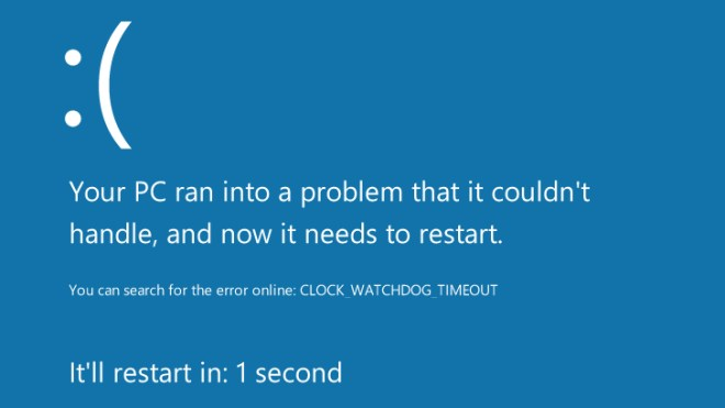 Windows 8, Bluescreen, Windows Developer Preview, Blue Screen Of Death
