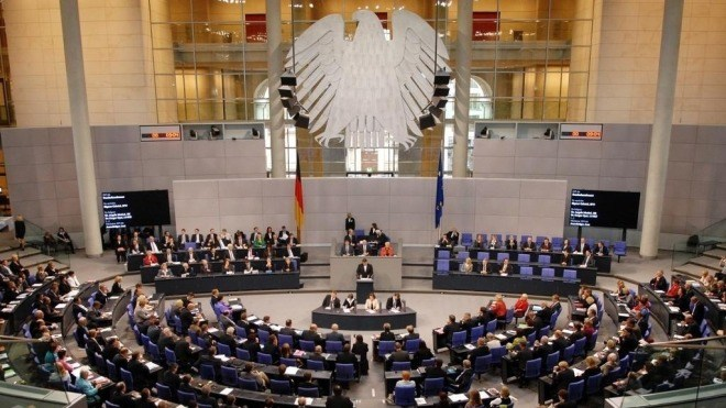 Bundestag, Parlament, Plenum