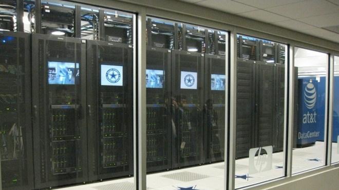 Server, Datenzentrum, AT&T