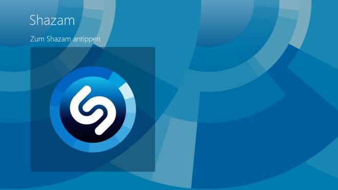 Musikdienst, Shazam, Musikerkennung