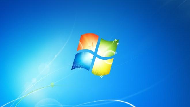 Microsoft, Windows 7, Logo, Hintergrundbild