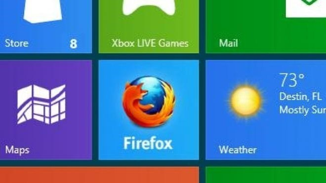 Windows 8, Browser, Firefox, Firefox on Metro, Firefox Windows 8