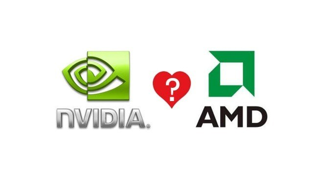 Logo, Amd, Nvidia, Chiphersteller