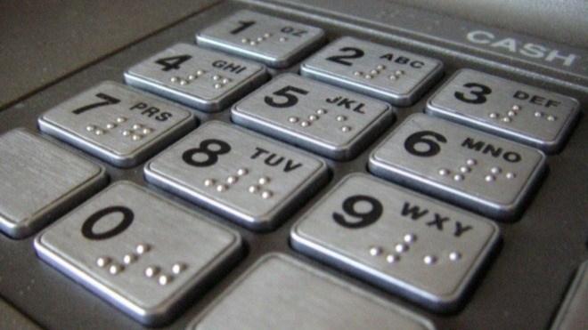Tasten, Geldautomat, ATM