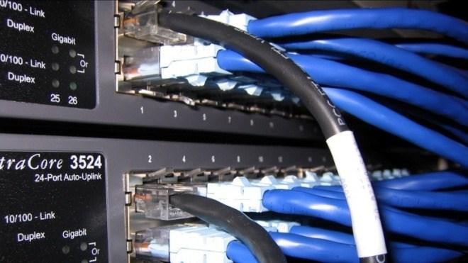Internet, Daten, Netzwerk, Kabel, Gigabit, Telekommunikation