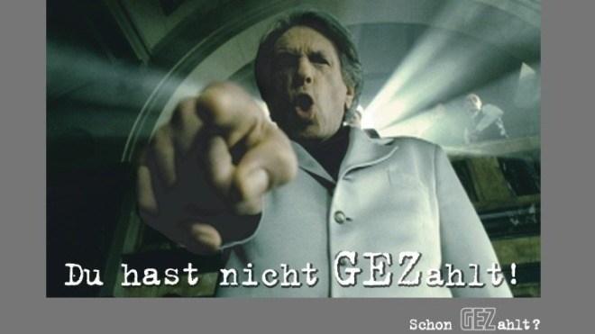 Gez, Abzocke, Rundfunkgeb�hr