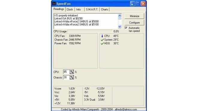 Windows, Tool, Speedfan, Lüftersteuerung
