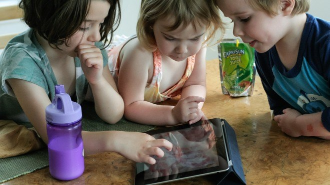 Tablet, Ipad, Kinder