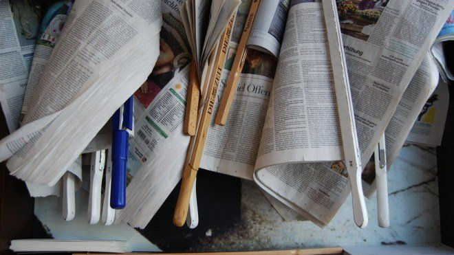 Presse, Zeitung, Papier