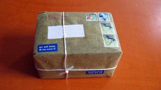 Handel, Versand, Paket, Air Mail