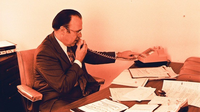 Telefon, Tisch, Anruf, Telefonat, Zettel