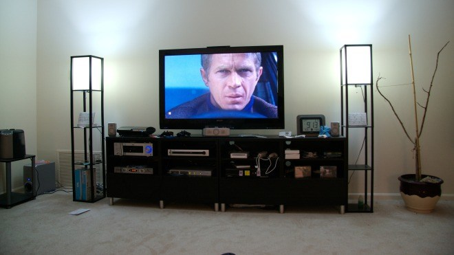 Fernsehen, Heimkino, Wohnzimmer