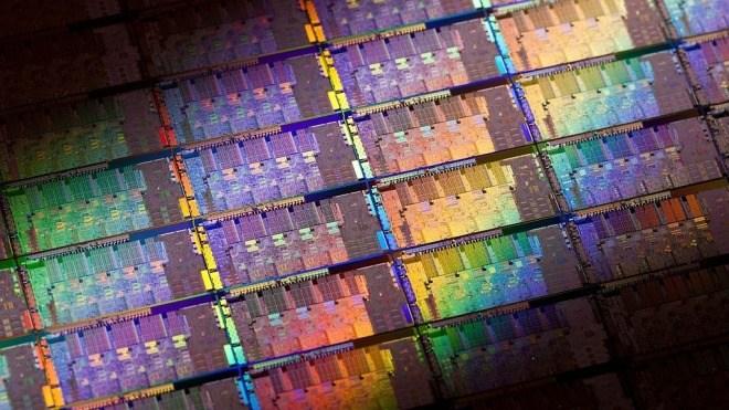 Intel, Prozessor, Chip, Wafer, Sandy Bridge