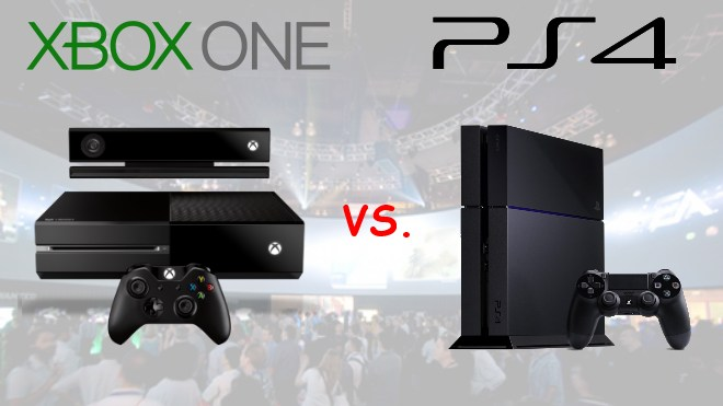 Microsoft, Sony, Xbox One, PlayStation 4, PS4, Sony PlayStation 4, Microsoft Xbox One, Xbox One vs. Playstation 4