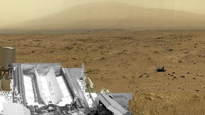 Nasa, Mars, Panorama, Curiosity, MSL