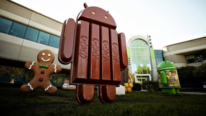 Android, Android 4.4, KitKat, Mountain View