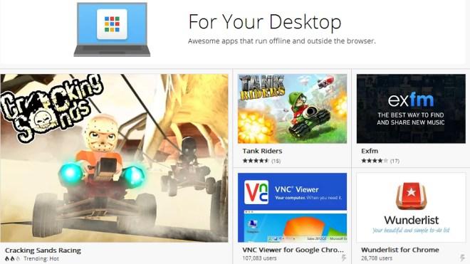 Google, Apps, Chrome, Desktop, Chrome Web Store