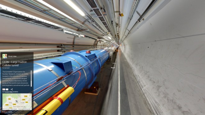 Google, Wissenschaft, Street View, CERN, Lhc, Teilchenbeschleuniger, Large Hadron Collider