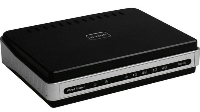 Router, D-Link, DIR-100