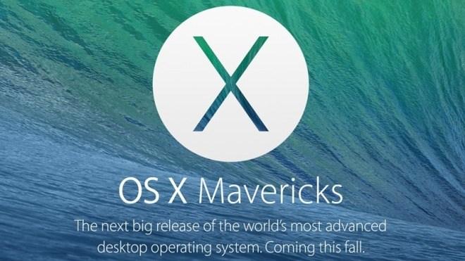 Apple, Mac Os X, Mavericks