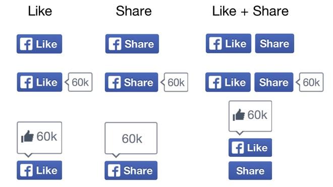 Facebook, Gef�llt mir, Like, Share