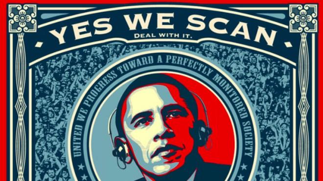 �berwachung, Nsa, Barack Obama, Yes we scan