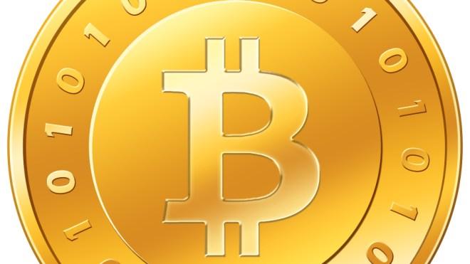 Logo, Bitcoin, Crypto-Währung