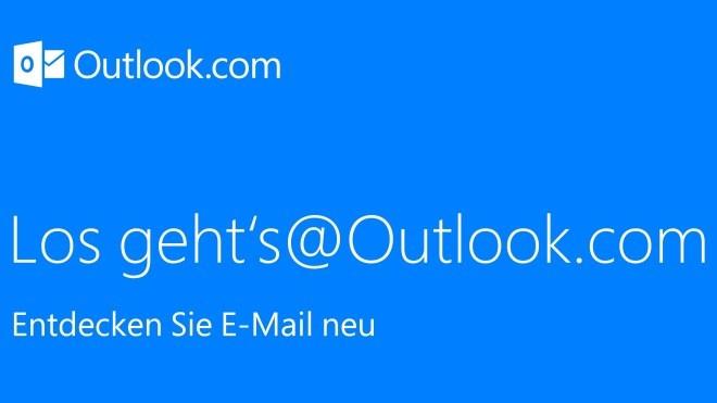 Microsoft, E-Mail, outlook.com, email