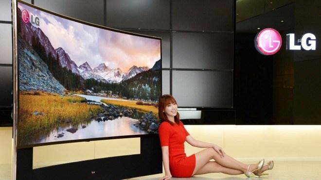 LG, Fernseher, 4K, Ultra HD, Ces 2014