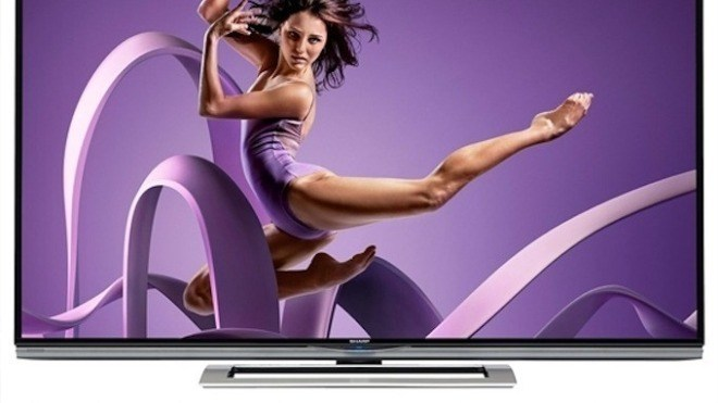 Tv, Fernseher, Sharp, 8K