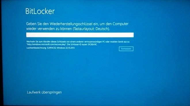 Windows 8, Windows 8.1, Bitlocker