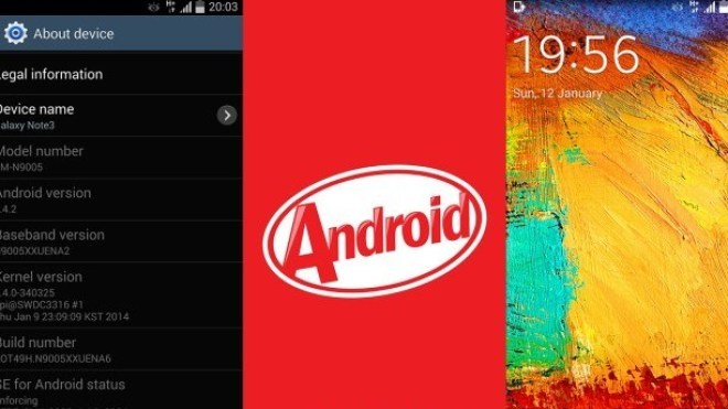 Samsung, Samsung Galaxy Note 3, Galaxy Note 3, Android 4.4.2