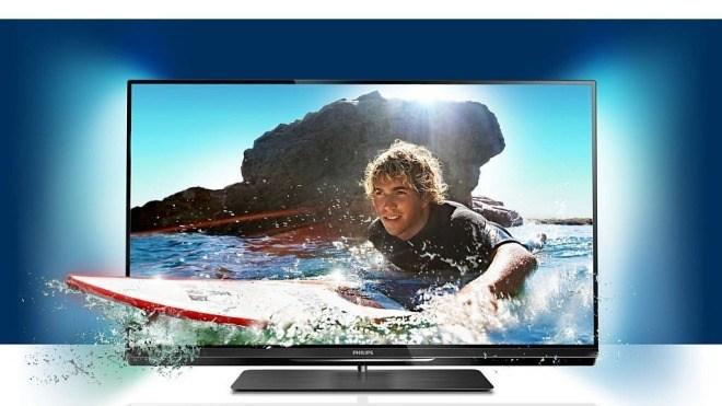Fernseher, TV-Gerät, Philips, 3D-Fernseher