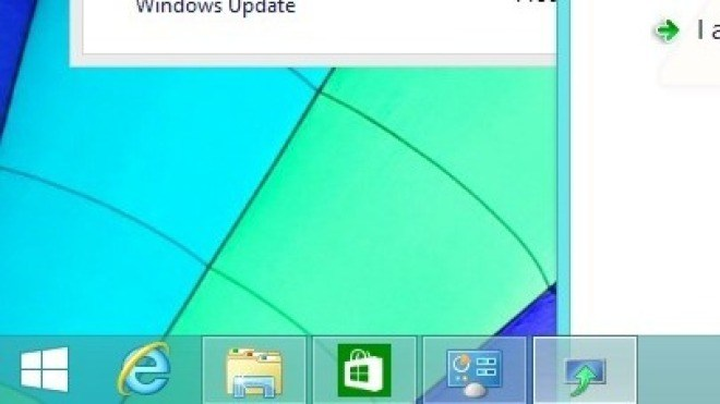 Windows 8.1, Windows 8.1 Update 1, Taskleiste