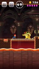 Gameplay aus Super Mario Run f�r iOS