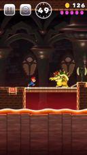 Gameplay aus Super Mario Run für iOS